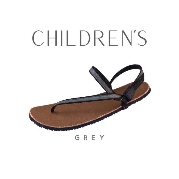 Children's Earth Runners Grey