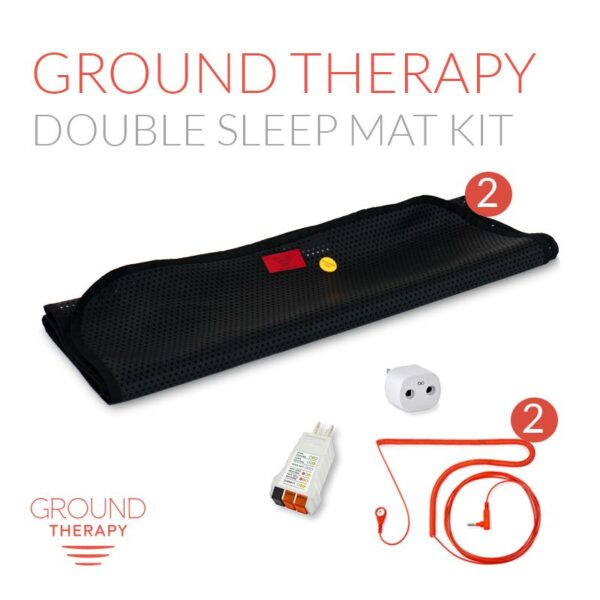 Ground Therapy Double Sleep Mat Kit@2x