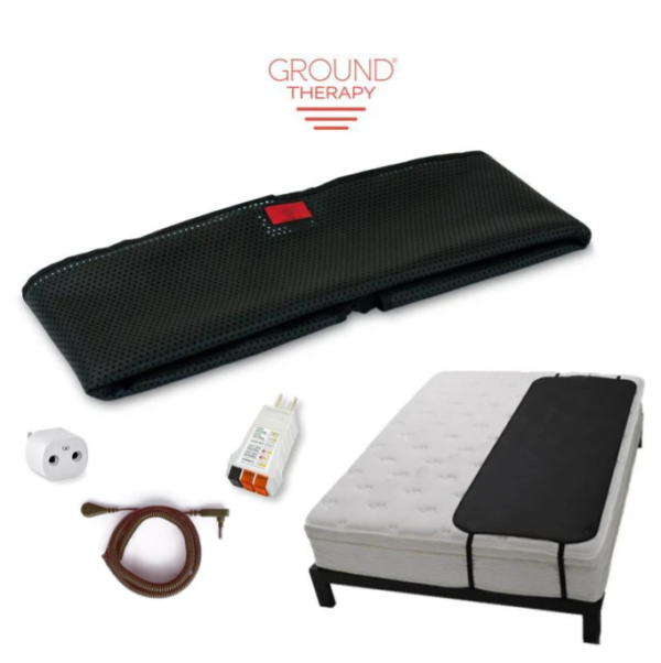Ground Therapy Sleep Mat (Single) Black Cord