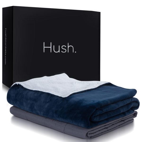 Hush Throw Blue 1