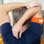 Wear-The-Earthing-Large-Body-Band-On-Your-Arm-To-Stretch