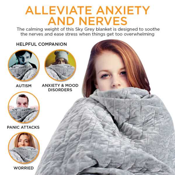 Weighted Blanket-ALLEVIATE ANXIETY (1)
