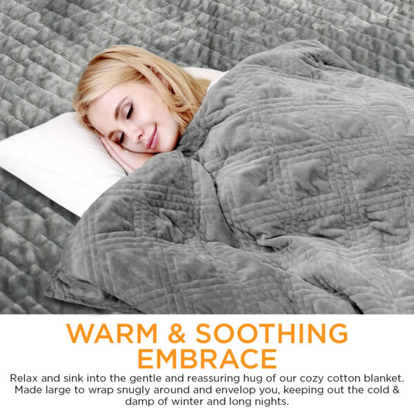 Weighted Blanket-WARM & SOOTHING