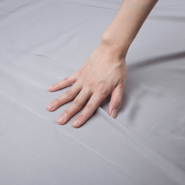 grey sheet hand